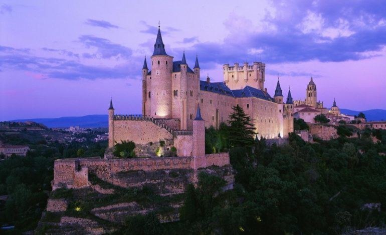The Alcázar of Segovia – Segovia, Spain