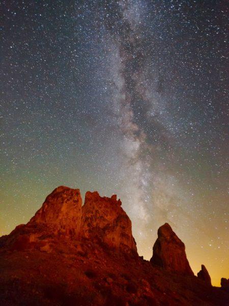 دیدار با ستارگان در صحرای کالیفرنیا