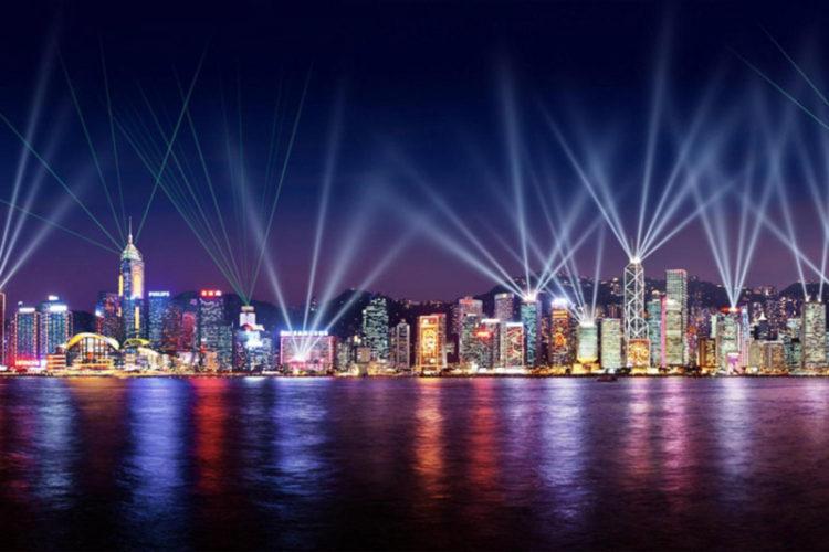 سمفونی رقص نور، هنگ کنگ