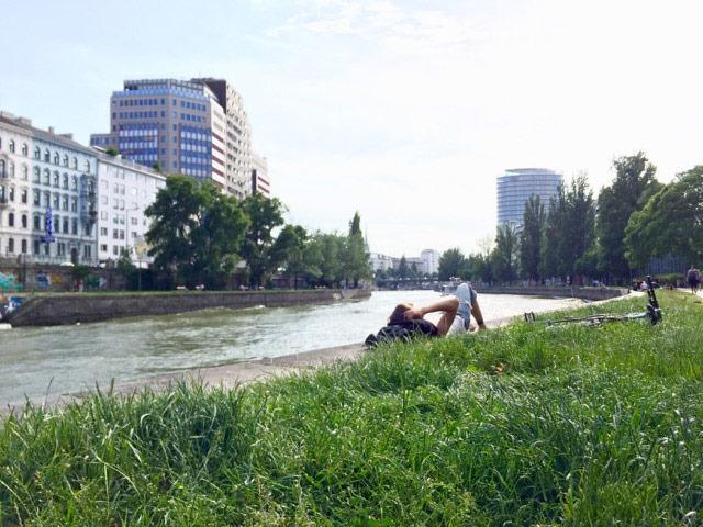 Danube River in Europe