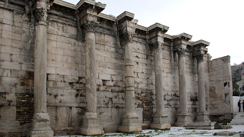 athens library of hadrian