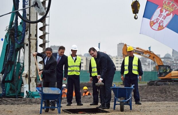 SERBIA-UAE-CONSTRUCTION-BELGRADE