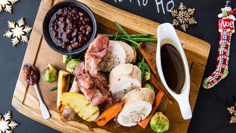 christmas foods in dubai