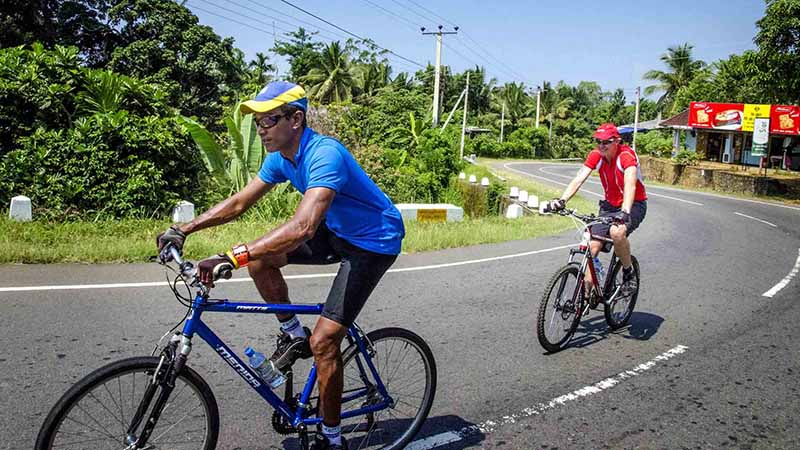 cycle track bentota