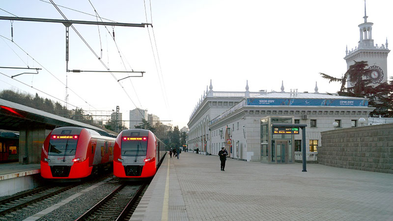 Train in sochi