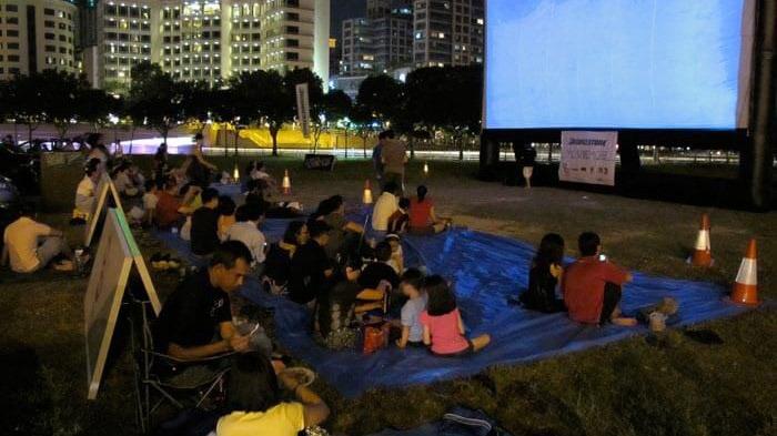 فیلم در فضای باز