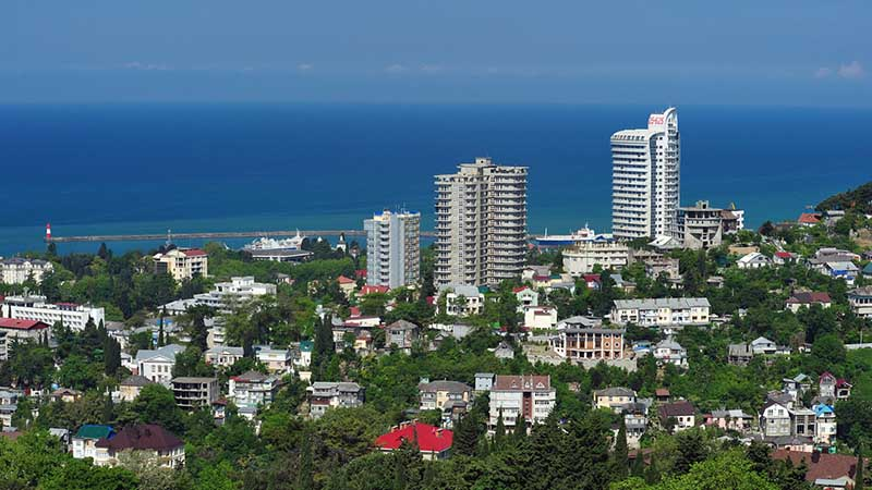 sochi city view