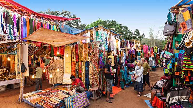 Travel to goa and shopping