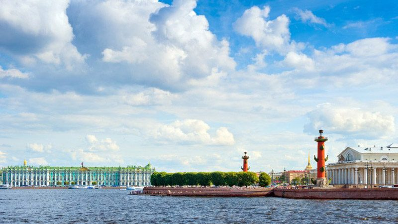 vasilyevsky island russia