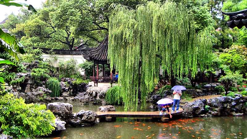 yu garden in china