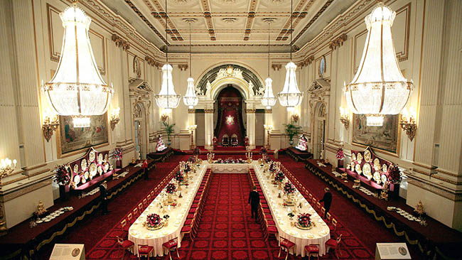 The Ballroom of Buckingham