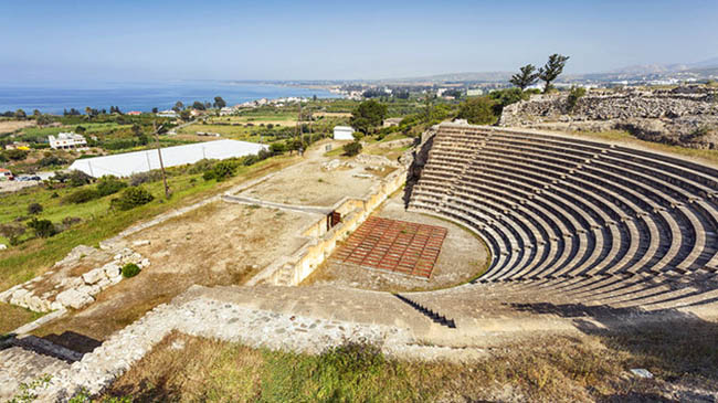 theater at ancient soli