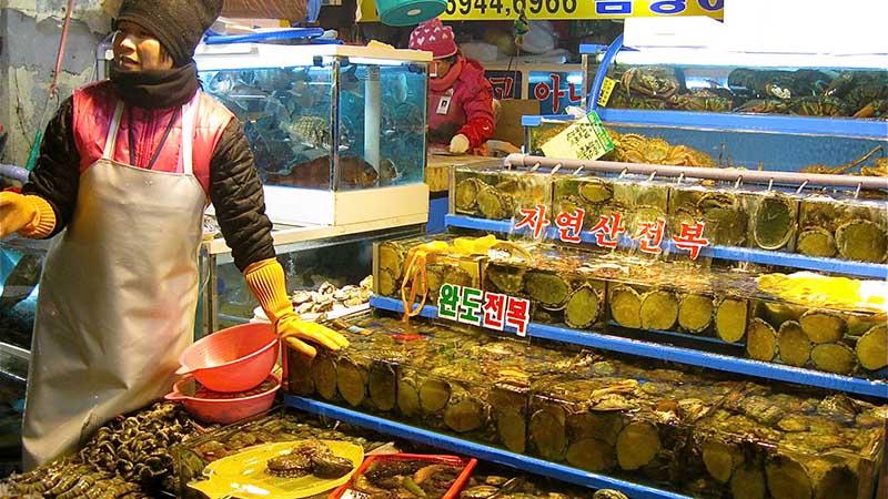 fish market in seoul
