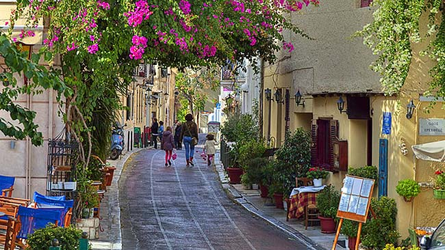 greece athens plaka