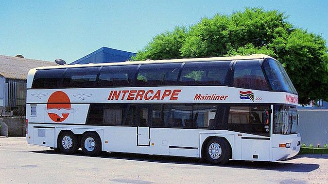 bus in South Africa