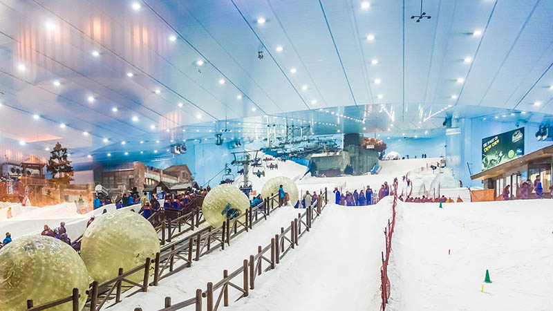 ski mall in dubai