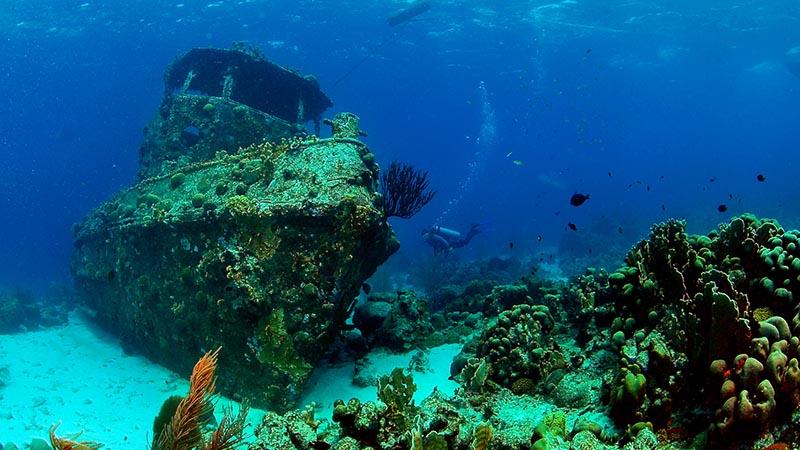 wreck of zenobia in khirokitia in larnaca