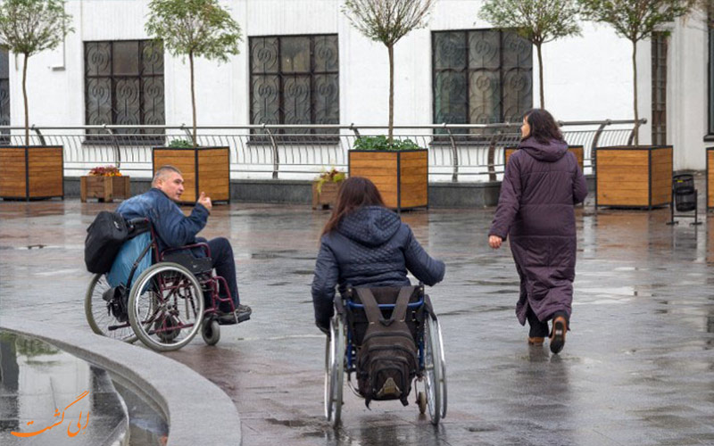 نکات سفر برای افراد با معلولیت جسمی