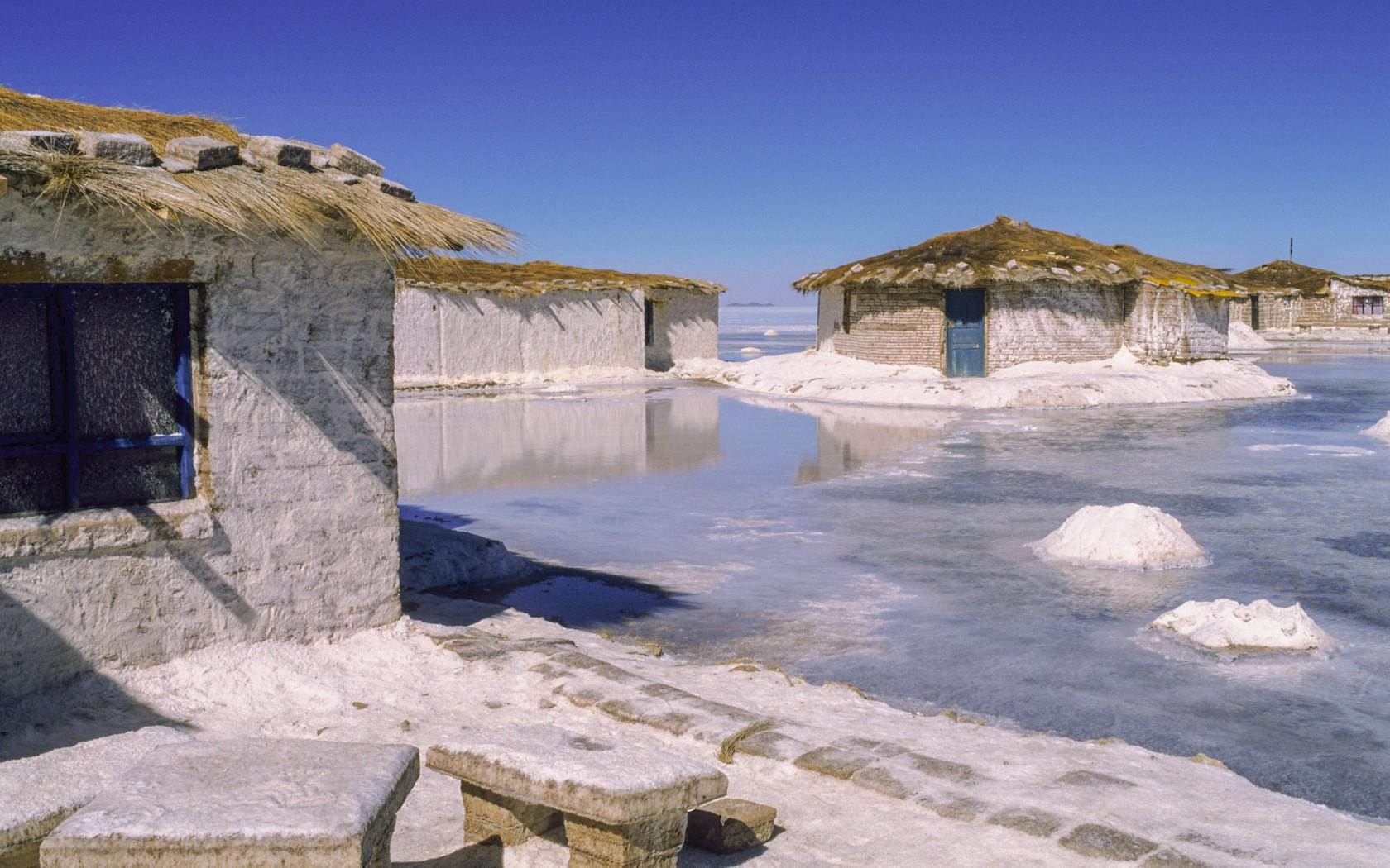 هتل نمکی در بولیوی