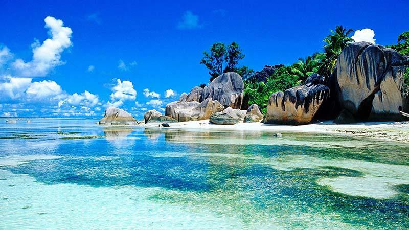 جزیره زیبای سیشل