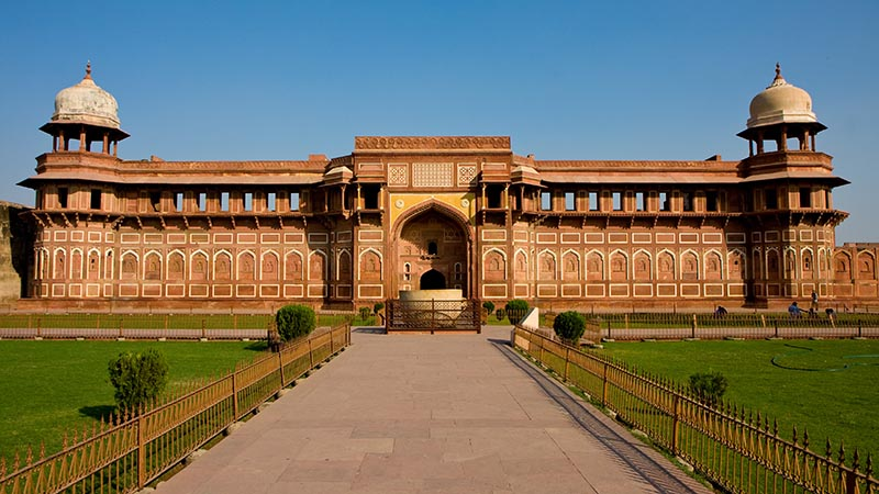agra fort original