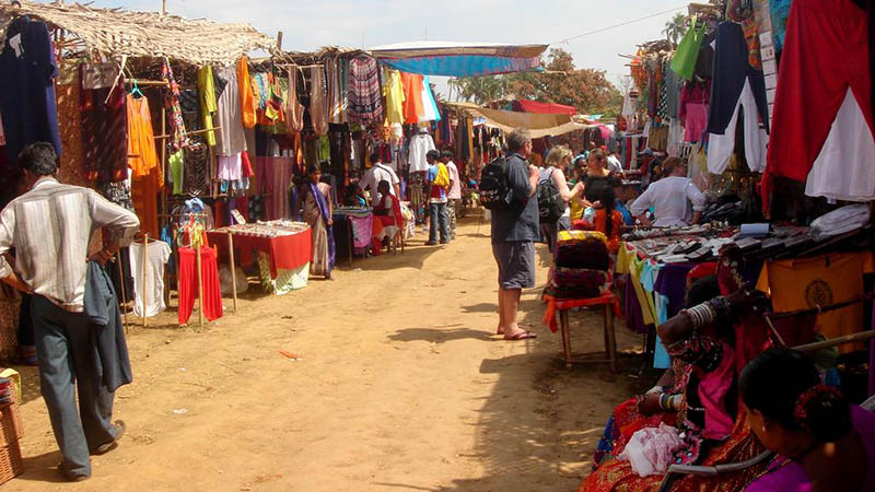 Anjuna's Wednesday Flea Market