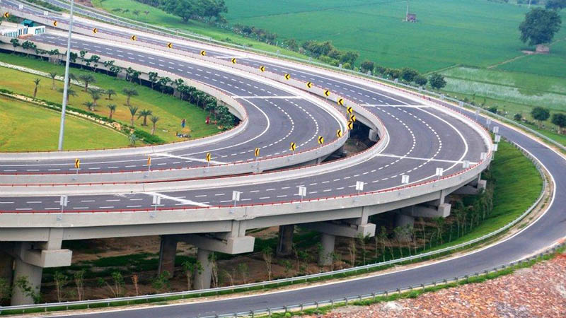 delhi to agra road