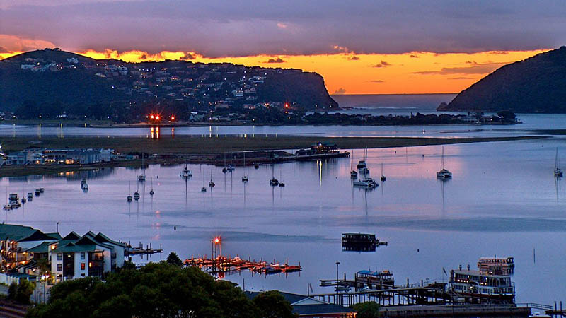 knysna sunset