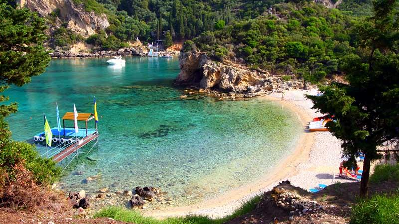 paleokastritsa beaches