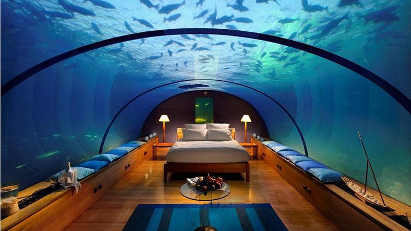 هتل زیر دریا در فیجی