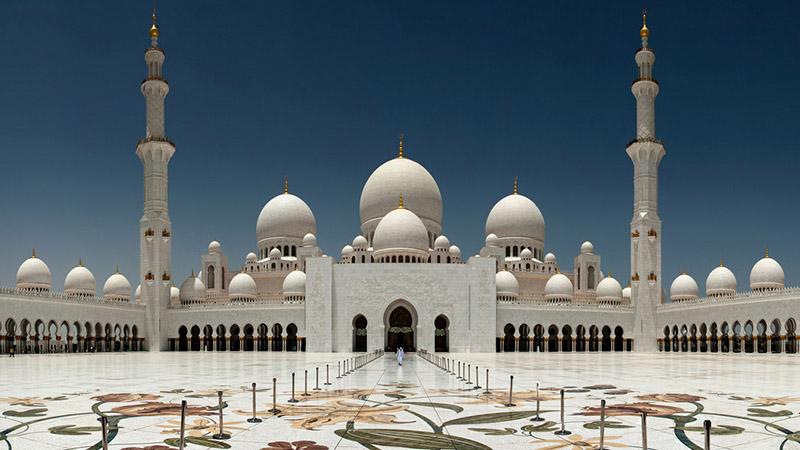 مسجد شیخ زائد ابوظبی