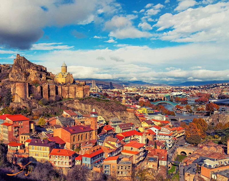 تفلیس | زیباترین شهرهای گرجستان