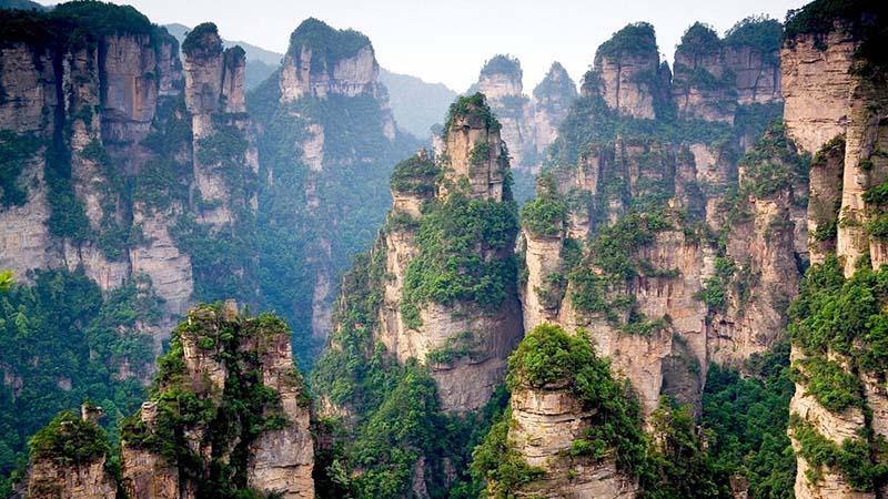 کوهستان تیانزی چین