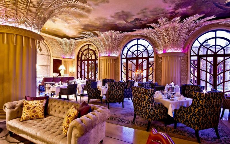 رستوران هتل پالاس آو دی لاست سیتی