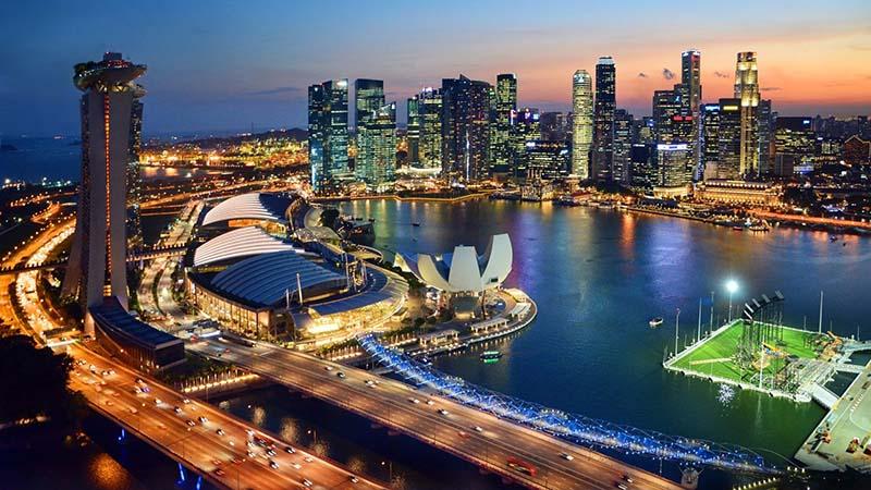 شهر مدرن سنگاپور