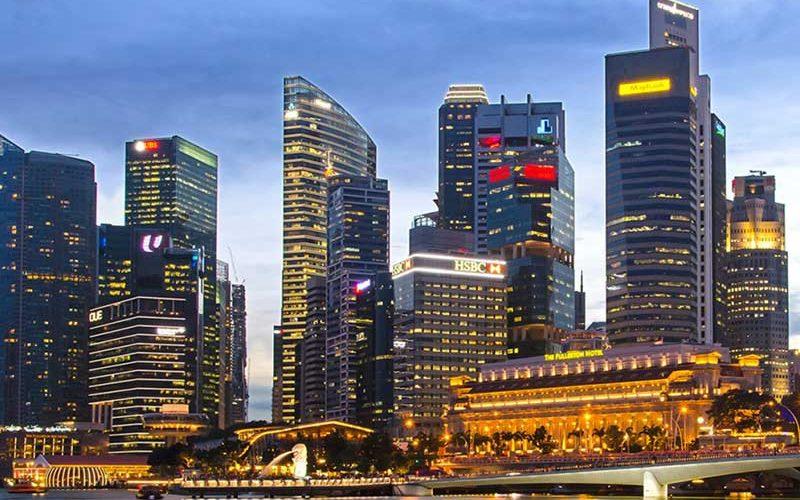 دورنمای شهری سنگاپور