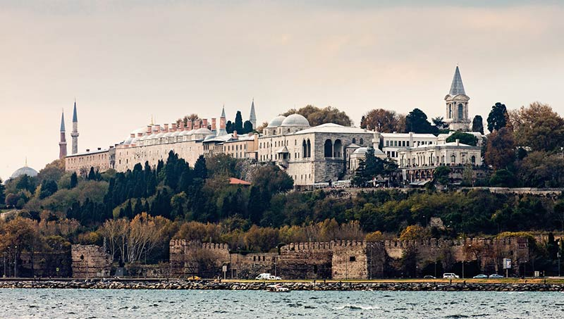 کاخ تاپکاپی استانبول