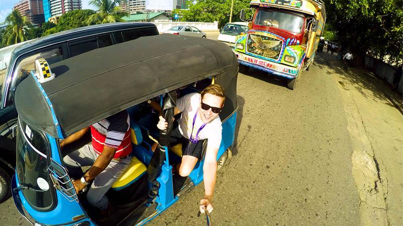 تاک تاک سواری در سریلانکا