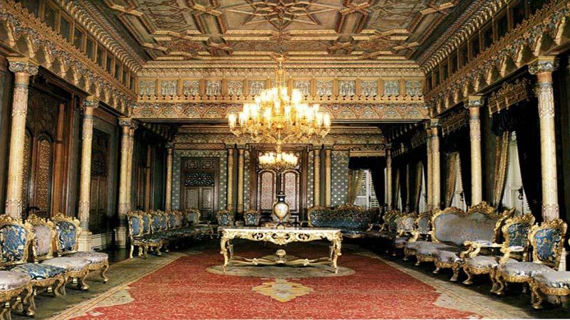 داخل کاخ ییلدیز