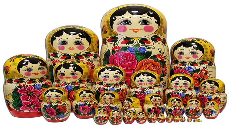 عروسک های ماتروشکا