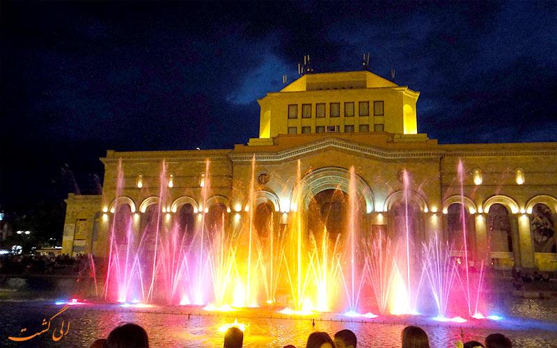 Yerevan-Fountains-فواره های موزیکال