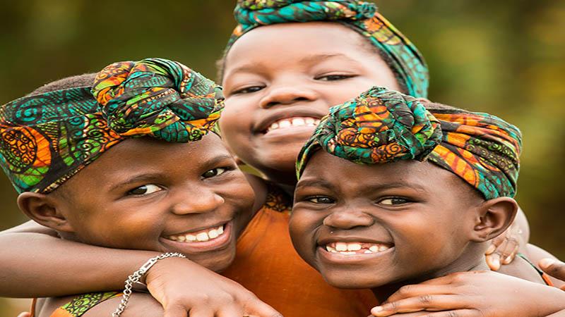 بچه های آفریقایی