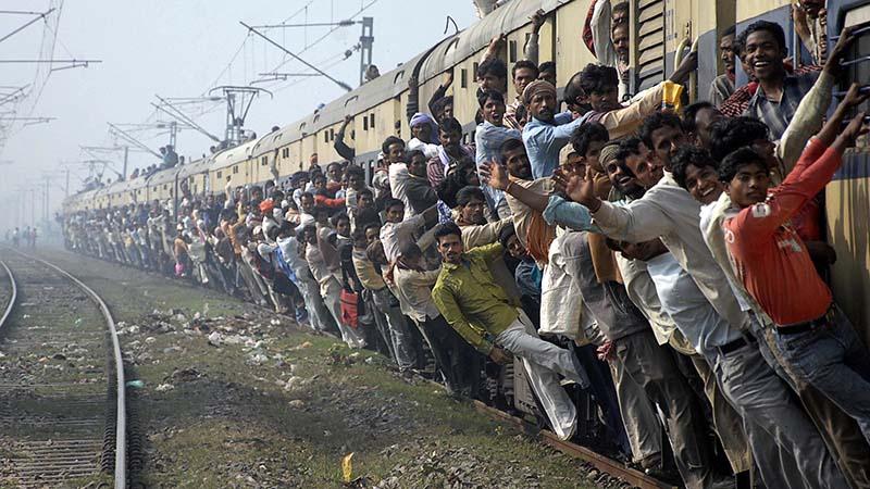 قطار در هند