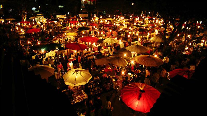 بازار شبانه مالزی