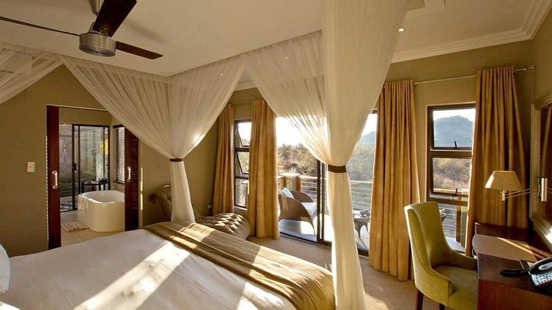 اتاق هتل زیبای شفردز تری گیم لوج