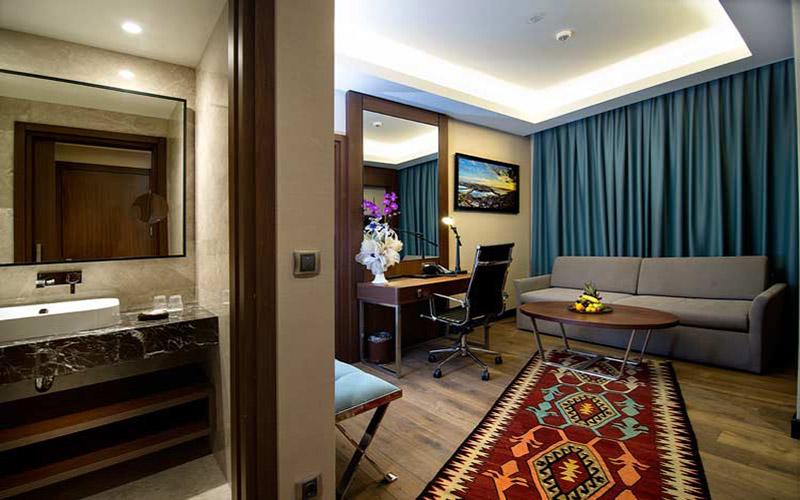 اتاقی از هتل 4 ستاره استانبول