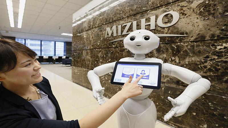 ربات فرودگاه ژاپن