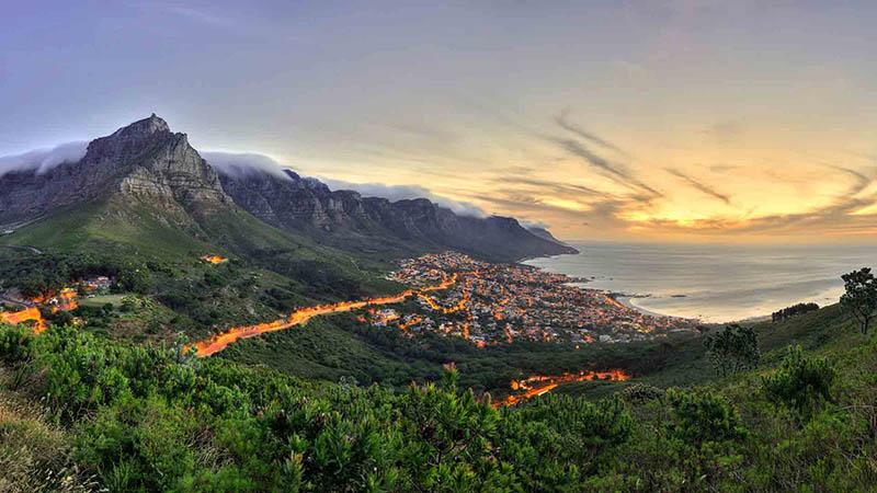 طبیعت زیبای آفریقای جنوبی