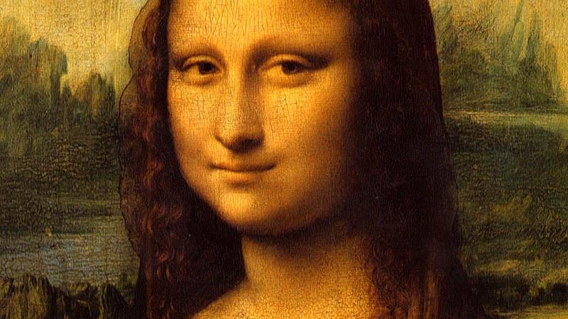 تابلوی معروف مونا لیزا در لوور