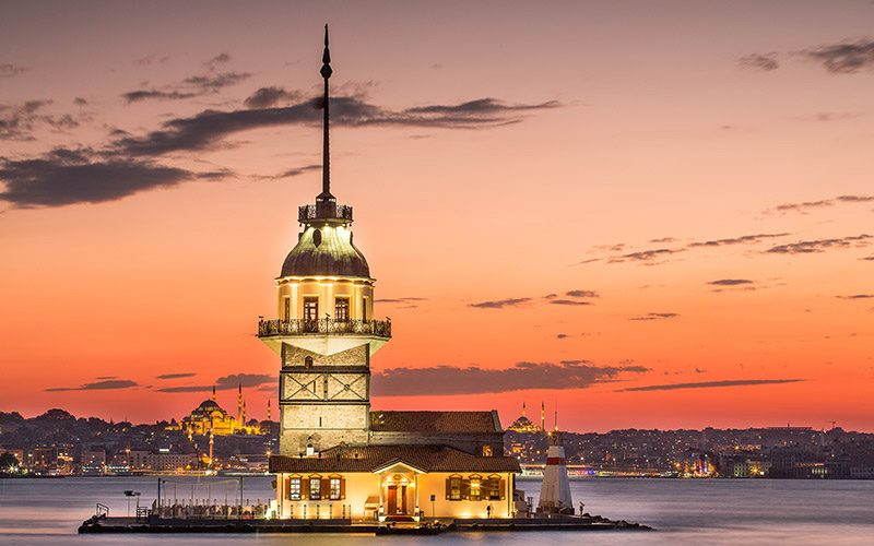 برج دختر